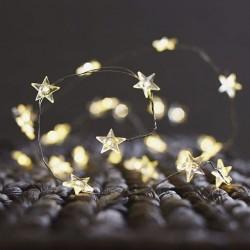 Luces led para decoración estrella Malakita