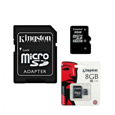 MEMORIA MICRO SD KINGSTON 8GB