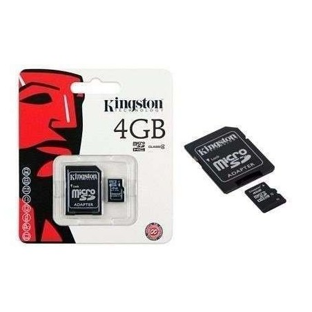 MEMORIA MICRO SD KINGSTON 4GB