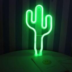 Cactus Led Neón para decoración Malakita