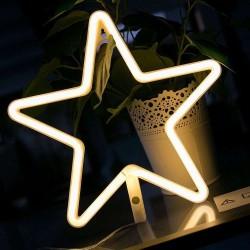 Estrella Led Neón para decoración Malakita