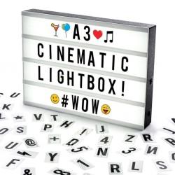 Caja de Luz A3 Grande Malakita