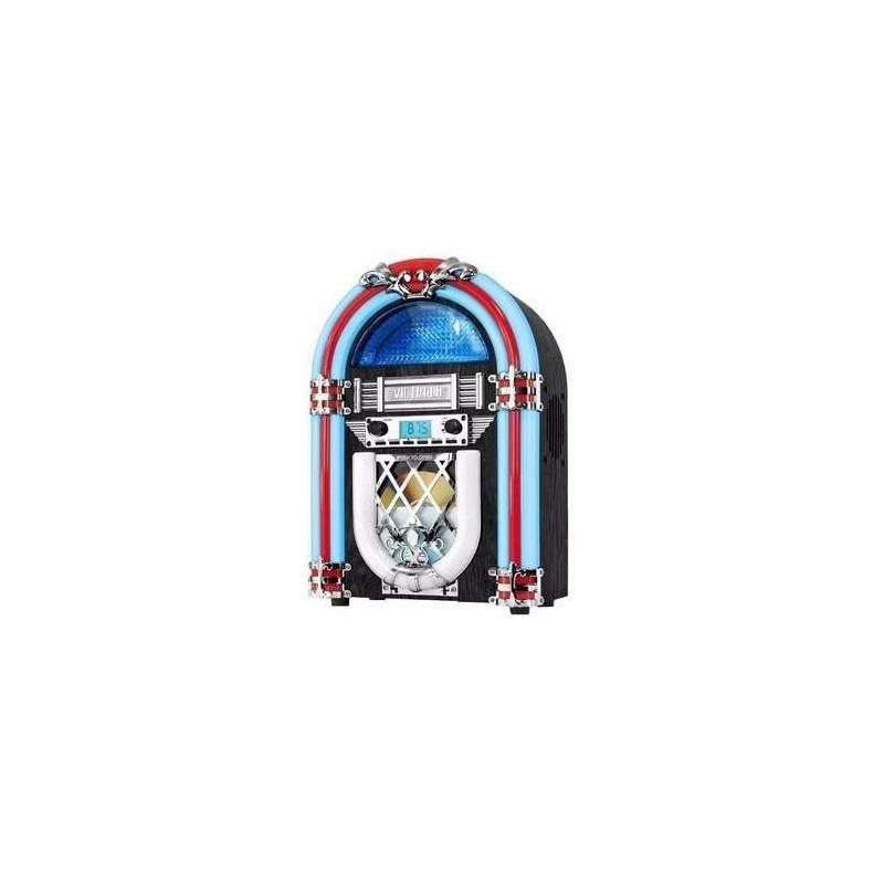 Mini Rockola Victrola Bluetooth/cd/radio Luz