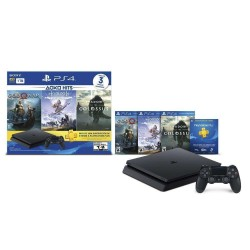 PlayStation 4 Slim 1TB con 3 juegos: God of War, Horizon Zero Dawn, Shadow of the Colossus -PLAY STATION MINI CLASSIC SONY-Kartyy | SuperMarket Online