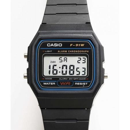 Reloj Casio Hombre F91W-1 Classic Negro