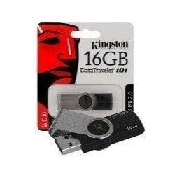 PENDRIVE KINGSTON 16GB DT101_G2