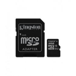 MICRO SD KINGSTON 32GB CON ADAPTADOR, CANVAS SELECT 80R CL10 UHS-I