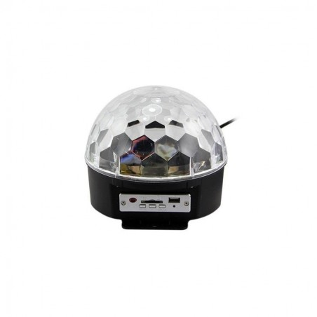 Bola de cristal rítmica LED