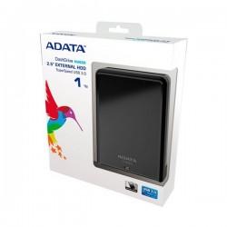Disco Duro Externo 1TB - ADATA HV620S NEGRO USB 3.0