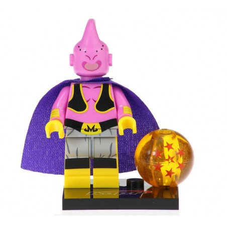 Minifigura Tipo Lego Majin Boo Inicio - Dragon Ball Z