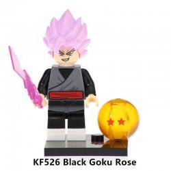 Minifigura Lego Black Goku Super Saiyajin Rosé