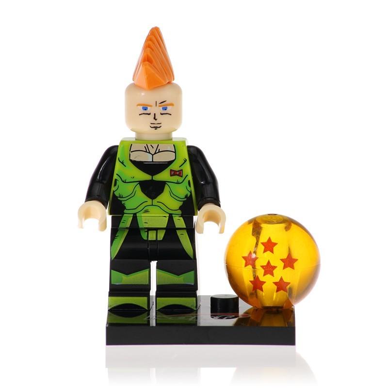 Minifigura Lego Androide No 16 Dragon Ball Z