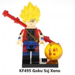 Minifigura Lego Goku Ssj Xeno