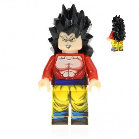 Minifigura Lego Goku SSJ4