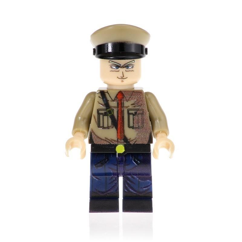 Minifigura Lego General Blue