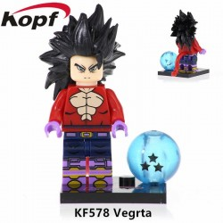 Minifigura Lego Vegeta SSJ fase 4 Dragon Ball Super