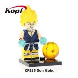 Minifigura Lego Son Goku Dragon Ball Super