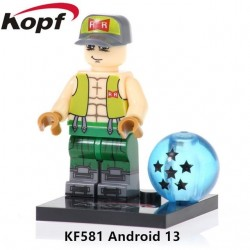Minifigura Lego Androide número 13 Dragon Ball Z