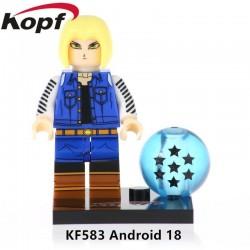 Minifigura Lego Androide 18 Dragon Ball Z