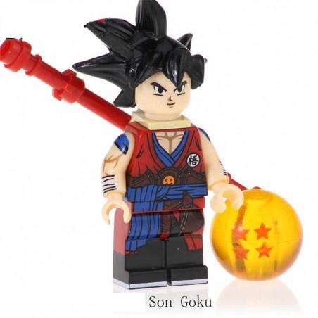 Minifigura Lego Goku Dragon Ball Z