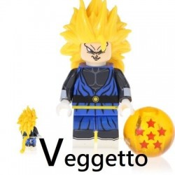 Minifigura Lego Veggetto Dragon Ball Super
