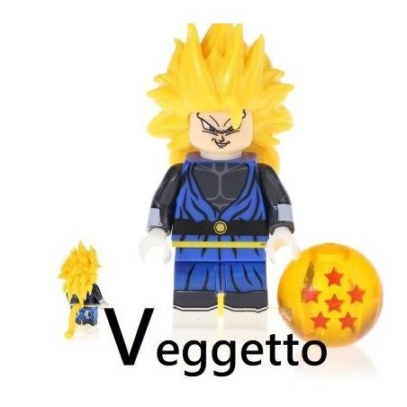 Minifigura Lego Veggetto Dragon Ball Super