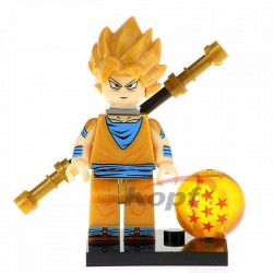 Minifigura Lego Goku Dragon Ball