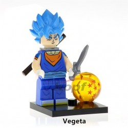Minifigura Lego Vegeta Blue Dragon Ball