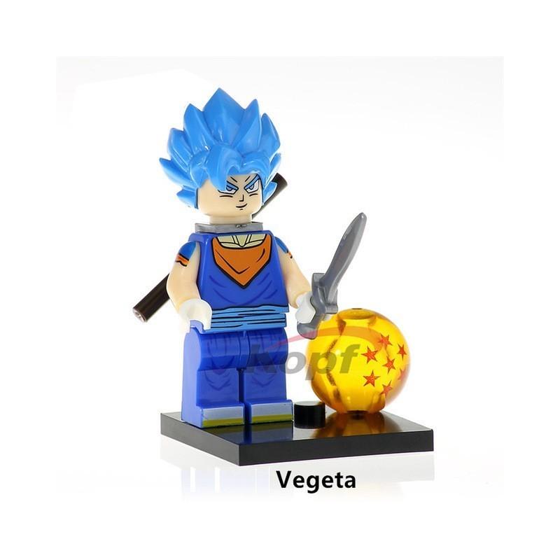 Minifigura Lego Vegeta Blue Dragon Ball
