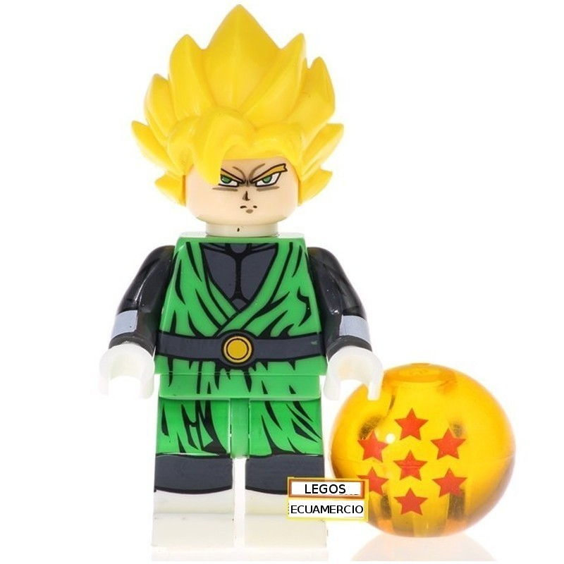 Minifigura Lego Goku SSJ Dragon Ball Super