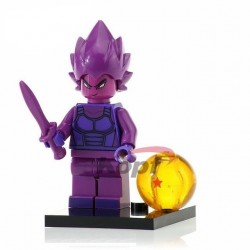 Minifigura Lego Vegeta purple Dragon Ball