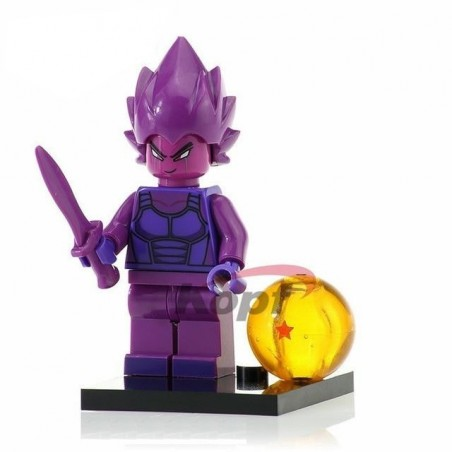 Minifigura Lego Vegeta purple Dragon Ball