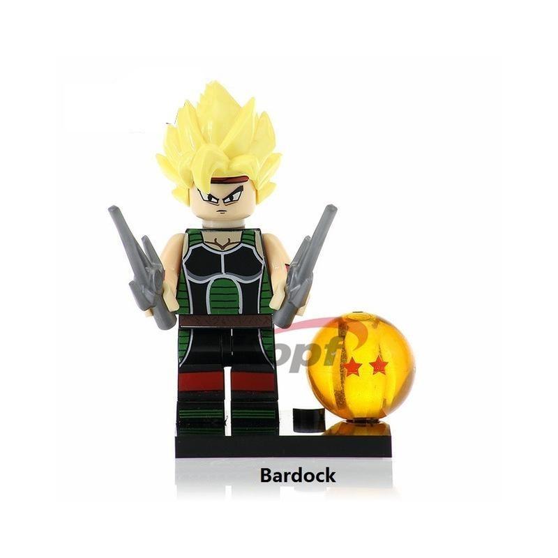 Minifigura Lego Bardock Dragon Ball