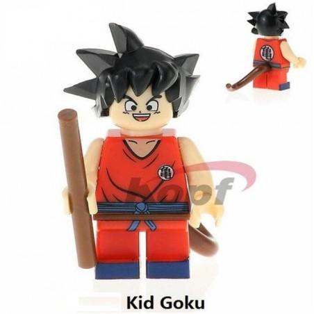 Minifigura Lego Goku niño Dragon Ball Z