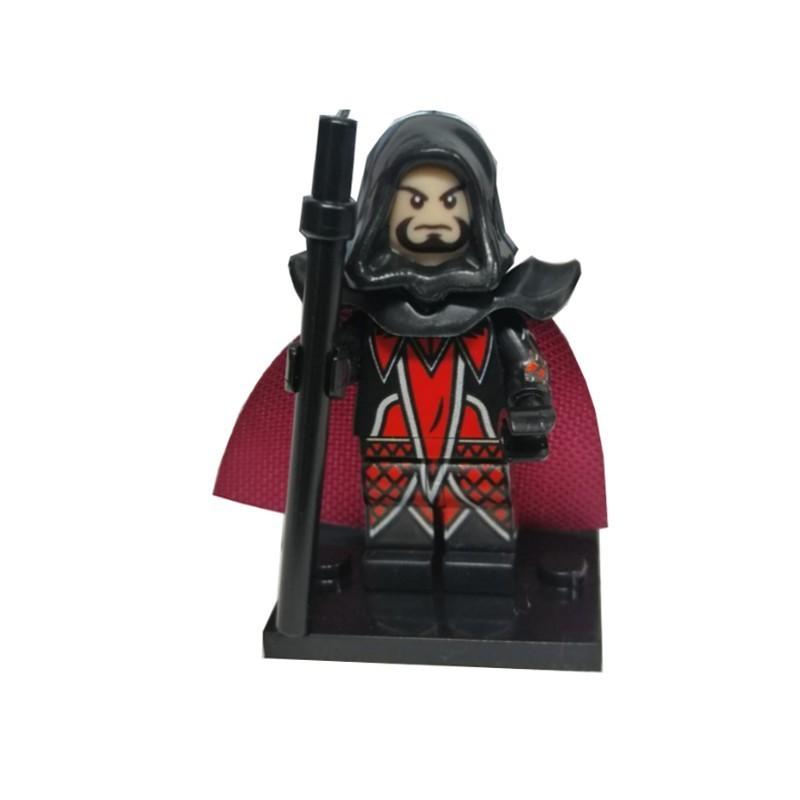 Minifigura Lego VIllano Medivh de Warcraft