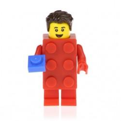 Minifigura Lego Super Heroe Traje de ladrillos