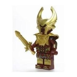 Minifigura Lego Súper Héroe Heimdall