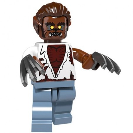 Minifigura Lego Hombre Lobo Scary Mask