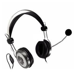 Audífonos Diadema con Microfono Genius Hs-04su Negro