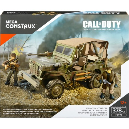 Call of Duty Patrulla de Exploración de Infantería Megablocks