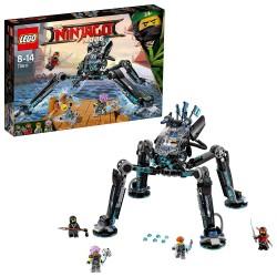 LEGO PELICULA NINJAGO GUERRERO ACUÁTICO 70611