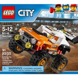 LEGO CITY VEHICULO MONSTER CAMION ACROBATICO 60146