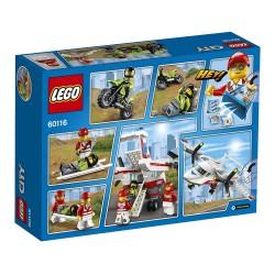 LEGO CITY AVIÓN AMBULANCIA 60116