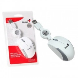 Mouse Genius Micro Traveler Retractil USB