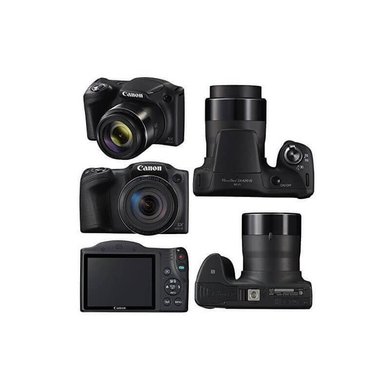 Camara Canon Fotográfica Powershot Sx420 20 Mpx 42x Wifi-Kartyy   SuperMarket Online