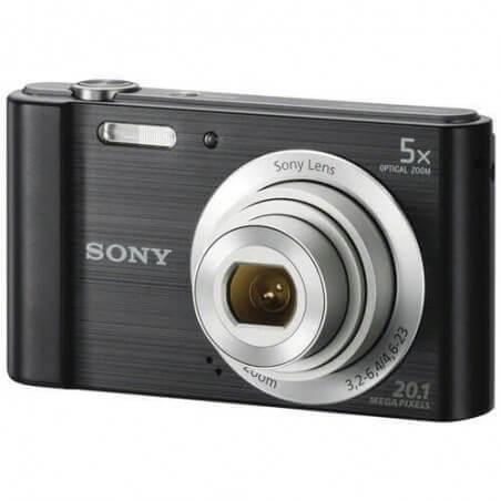 Cámara Sony De 20.1mp Con Zoom Óptico De 5x - Dsc-w800