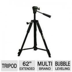Trípode Vivitar  3662  Para Cámaras Filmadoras Profesionales 1.60mt