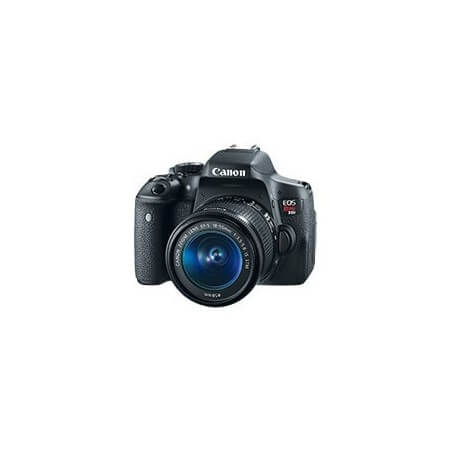 Cámara Profesional  Canon Eos Rebel T6i Kit  Lente 18-55mm
