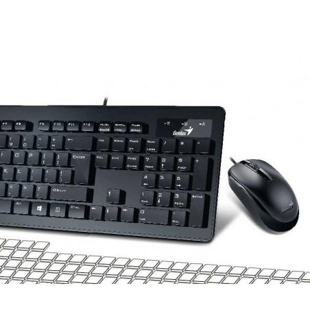 Kit Teclado y Mouse Genius Slimstar C130 Usb